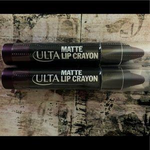 Ulta Matte Lip Crayon Firecracker- Lot Of 2